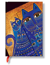 Zápisník - Med. Cats Wrap, mini 95x140
