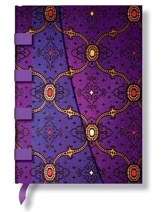 Zápisník - Violet Wrap, midi 120x170