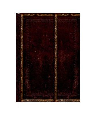 Zápisník - Black Moroccan Wrap, midi 120x170