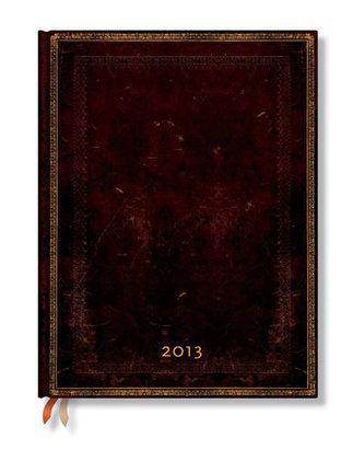 Zápisník - Black Moroccan Wrap, ultra 180x230