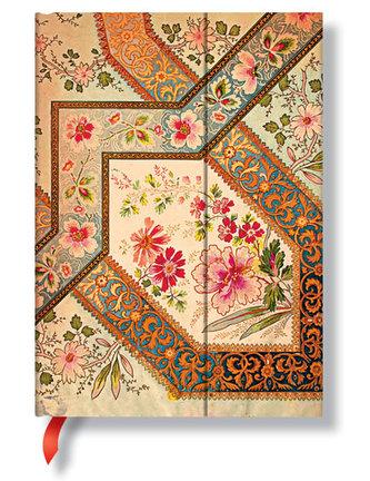Zápisník - Filigree Floral – Ivory Wrap, midi 120x170