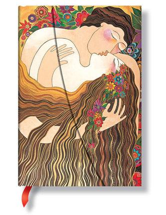 Zápisník - The First Kiss Wrap, mini 100x140 Lined