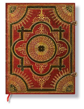 Zápisník - Ventaglio Rosso, ultra 180x230 Lined