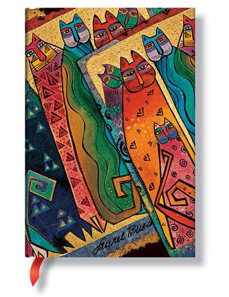 Zápisník - Santa Fe Felines Wrap, mini 95x140