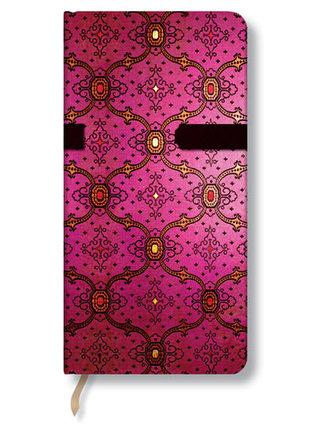 Zápisník - French Ornate Fuchsia Slim, slim 90x180