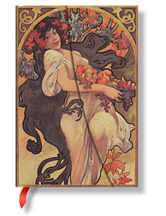 Zápisník - Autumn Maiden, midi 120x170