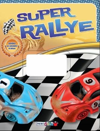 Super rally - knížka se závodní dráhou