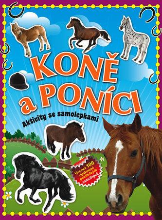 Koně a poníci – aktivity se samolepkami