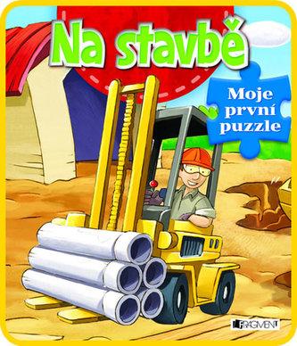 Na stavbě - Moje první puzzle