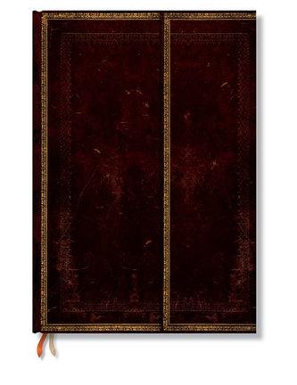 Zápisník - Black Moroccan Wrap, Grande 210x300