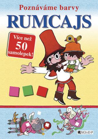 Rumcajs - Poznáváme barvy – více než 50 samolepek