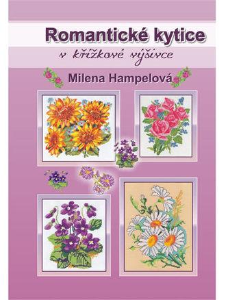 Romantické kytice v křížkové výšivce