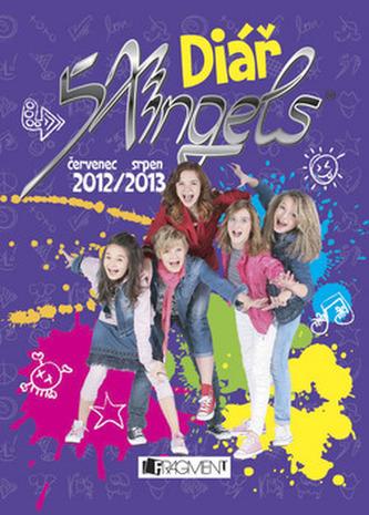 Diář 5 Angels 2012/2013