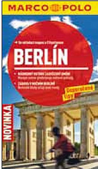 Berlín - Průvodce se skládací mapou