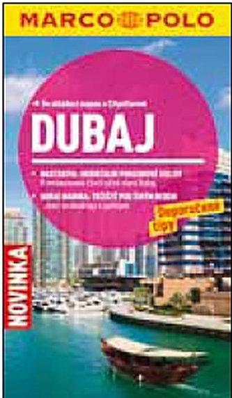 Dubaj - Průvodce se skládací mapou