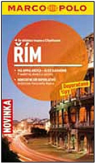 Řím - Průvodce se skládací mapou