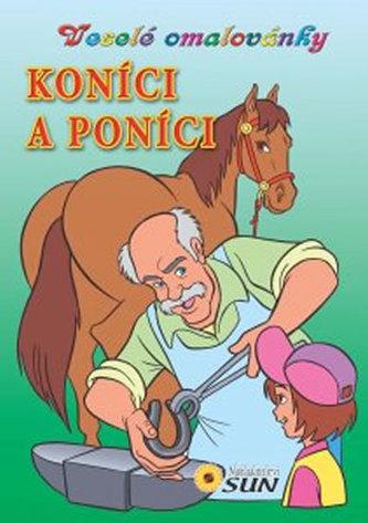 Koníci a poníci - Veselé omalovánky