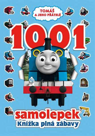 Tomáš a jeho přátelé - 1001 samolepek – Knížka plná zábavy