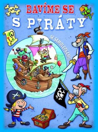 Bavíme se s piráty - sešit se samolepkami