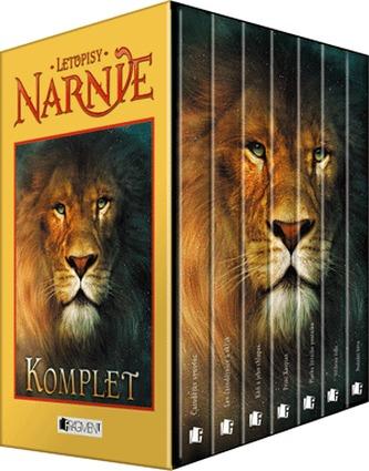 Letopisy Narnie 1-7.díl Komplet krabice - 3. vydání - C. S. Lewis