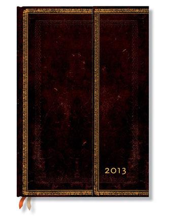 Diář 2013 - Black Moroccan - 12 měsíční, Grande 210x300 Vertical