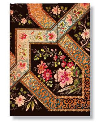 Adresář - Filigree Floral - Ebony Wrap, midi 120x170