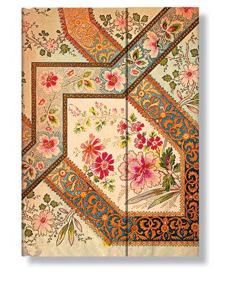Adresář - Filigree Floral - Ivory Wrap, midi 120x170