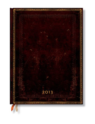 Diář 2013 - Black Moroccan - 12 měsíční, ultra 180x230