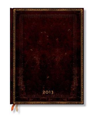 Diář 2013 - Black Moroccan - 12 měsíční, ultra 180x230 Vertical
