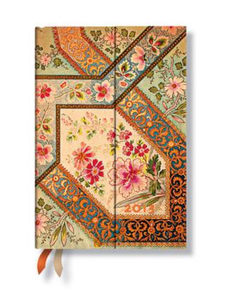 Diář 2013 - Filigree Floral Ivory - 12 měsíční, mini 95x140 Horizontal