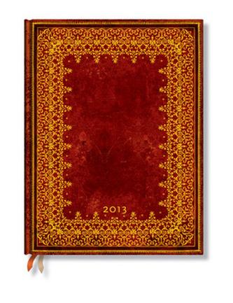 Diář 2013 - Foiled - 12 měsíční, ultra 180x230 Verso