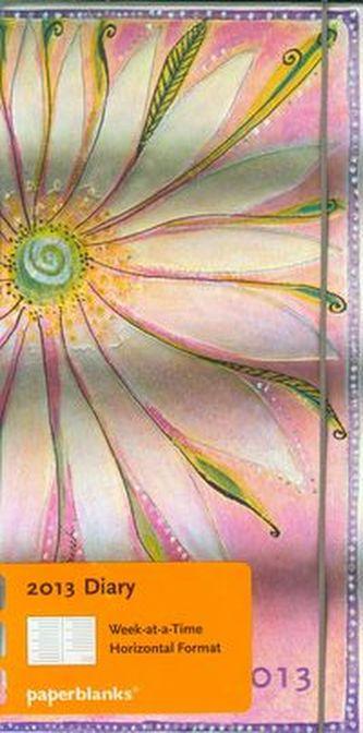 Diář 2013 - Seraphim - 12 měsíční, slim 90x180 Horizontal