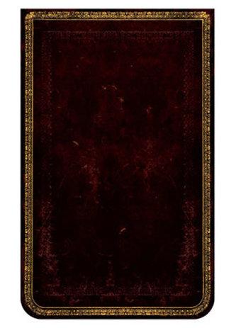 Zápisník - Black Moroccan, mini rep 95x140