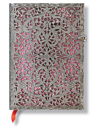 Zápisník - Blush Pink, midi 120x170