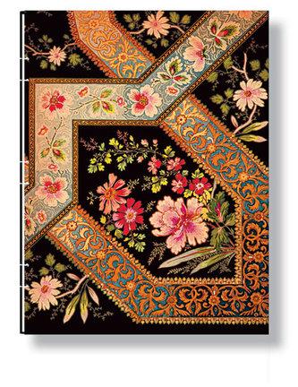 Zápisník - Filigree Floral Ebony, ultra 180x230
