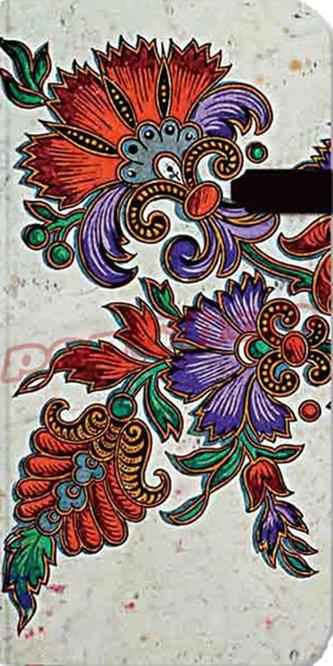 Zápisník - Flor de Pasion Ivory Slim, slim 90x180