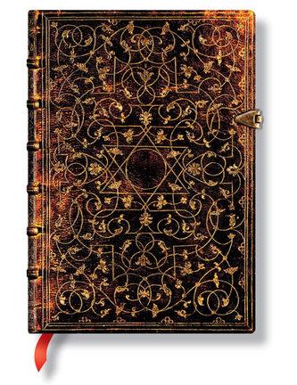 Zápisník - Grolier, midi 120x170