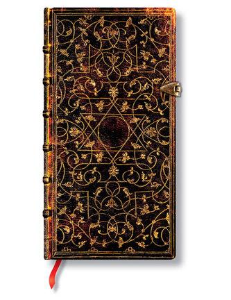 Zápisník - Grolier, slim 90x180