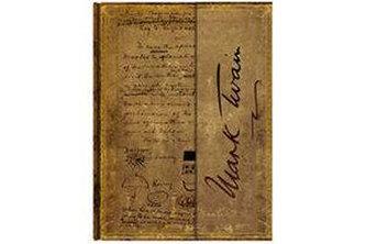 Zápisník - Mark Twain, Pudd´nhead Wrap, ultra 180x230
