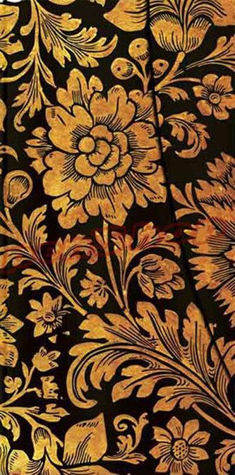 Zápisník - Midnight Gold Slim Wrap, slim 90x180