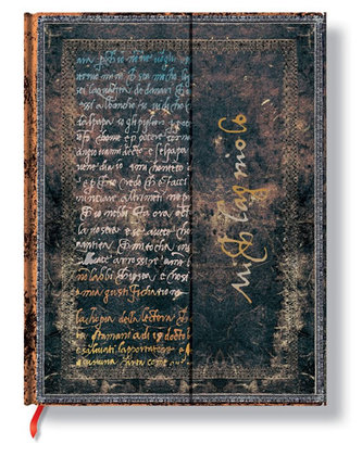 Zápisník - Michelangelo, Handwriting, ultra 180x230