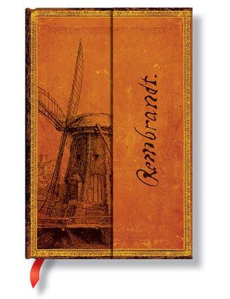 Zápisník - Rembrandt, The Windmill Wrap, mini 95x140