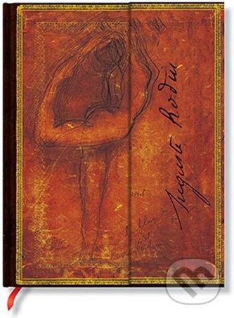 Zápisník - Rodin, Wind Wrap, mini 95x140