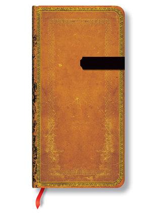 Zápisník - Saddleworn, slim 90x180