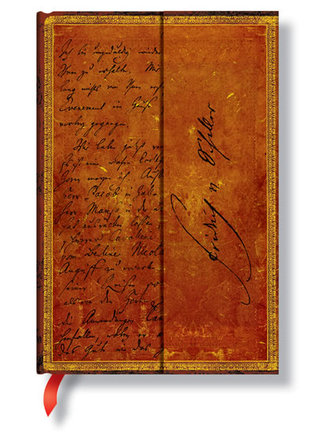 Zápisník - Schiller, Letter to Goethe, mini 95x140