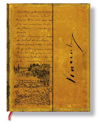 Zápisník - Van Gogh Wrap, ultra 180x230