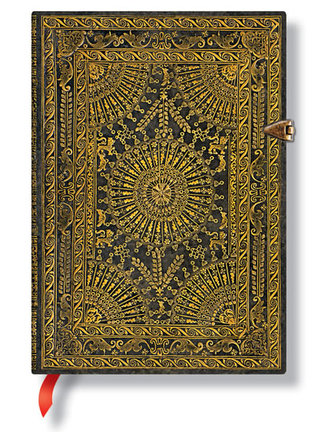 Zápisník - Ventaglio Marrone, midi 120x170