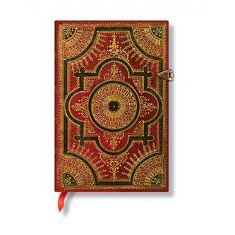 Zápisník - Ventaglio Rosso, mini 95x140