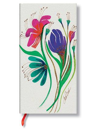 Zápisník - Wind Flowers, slim 90x180
