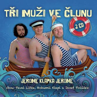Tři muži ve člunu - 2CD (čte Bohumil Klepl, Pavel Liška, Josef Polášek) - Nidhi Verma